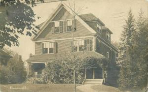 Bardwell Home 1920s Wellesley Massachusetts RPPC Photo Postcard 1793