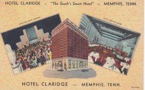 MEMPHIS , Tenn. , 30-40s ; Hotel Claridge