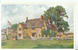 Northamptonshire Postcard - Sulgrave Manor - Ref 11479A