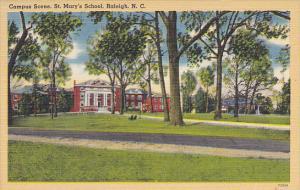Campus Scene St Mary's School Raleigh North Carolina