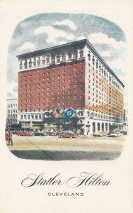CLEVELAND, Ohio, 1940-50s;  Hotel Statler on Euclid Avenue