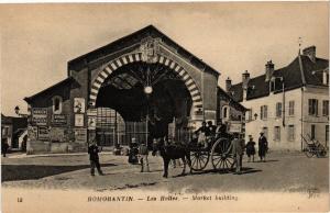 CPA ROMORANTIN - Les Halles - Market building (208918)