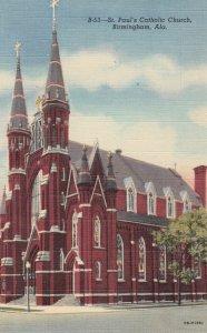BIRMINGHAM , Alabama , 1930-40s St Paul's Catholic Church