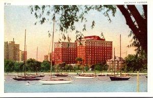 Illinois Chicago Belmont Harbor