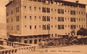 Belgian Congo Belge Matadi Hotel Metropole Postcard