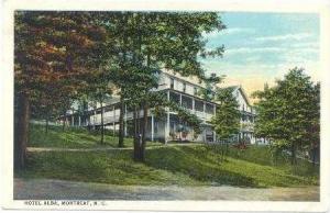 Hotel Alba, Montreat, North Carolina, PU-1924