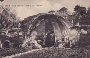 Italy Tivoli Villa Adriona Avanzi Del Canopo
