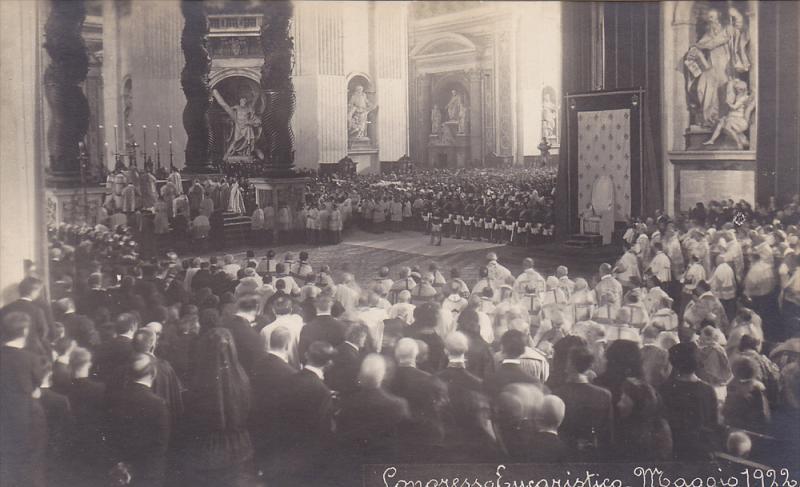 RP, Congresso Eucaristico- Maggio 1922, Rome (Lazio), Italy, 1922 (2)