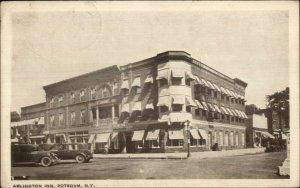 Potsdam NY Arlington Inn c1920 Postcard