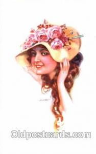 series 301/4 Artist Lottie Usabel (Italian) Postcard Post Card Series 301/4 s...