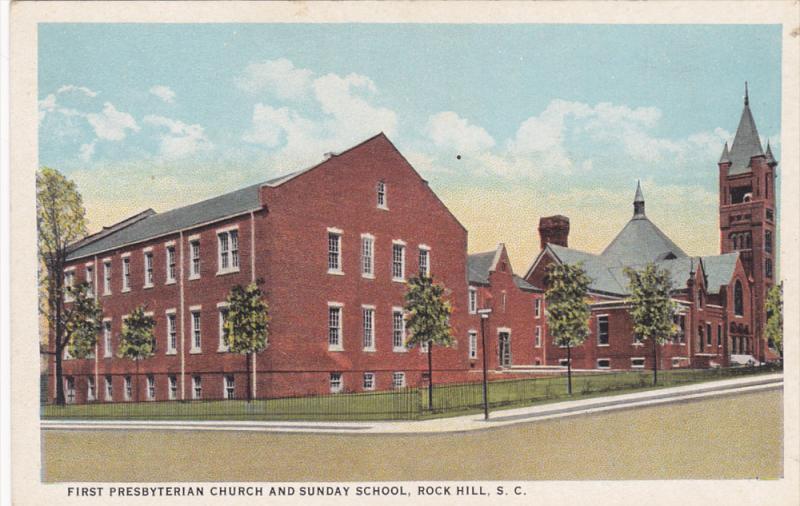 First Presbyterian Church , ROCK HILL , South Carolina , 30-40s #2