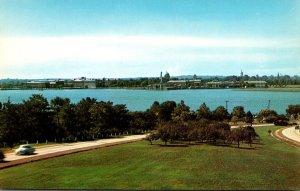 Maryland Annapolis Skyline Across Severn River