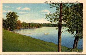 Minnesota Alexandria Scene On Lake Geneva Curteich