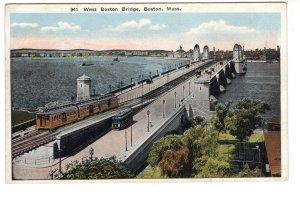 West Boston Bridge, Boston, Massachusetts,