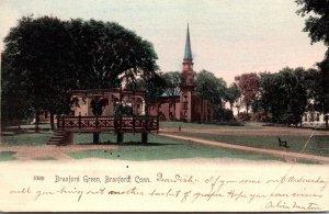 Connecticut Branford Branford Green 1905 Rotograph