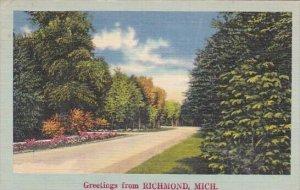 Greetings From Richmond Michigan