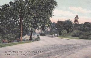 West Street Entrance to Park - Wilmington DE, Delaware DB