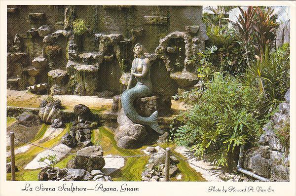 Guam Agana La Sirena Sculpture