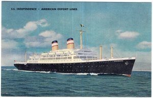 S.S. Independence - American Export Lines