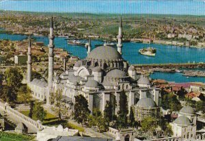 Turkey Istanbul Mosque of Soliman