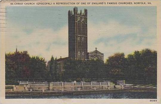 Virginia Norfolk Christ Episcopal Church