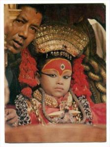 Kumari (Living Goddess), Kathmandu , Nepal, 50-60s