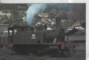 Postal 014198: Tren Locomotora 030-0232 Palau en Turon