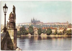 Czech Republic, PRAHA, PRAGUE, The Castle of Prague Hradcany, used Postcard