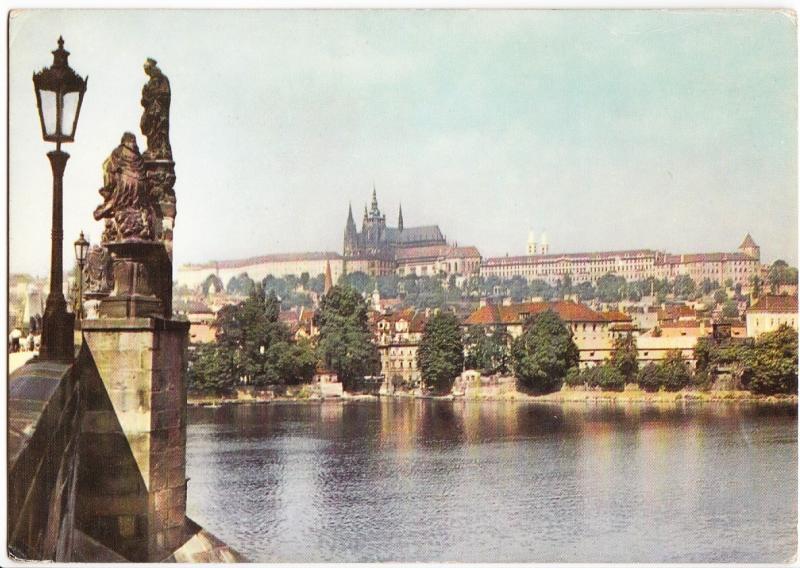 Czech Republic, PRAHA, PRAGUE, The Castle of Prague Hradcany, used Postcard