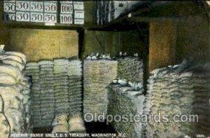 Reserve Silver Vault, US Treasury Washington, DC, USA Postcard Post Cards Old...