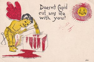 VALENTINE'S DAY, PU-1911; Doesn't Cupid Cut Any Ice With You?