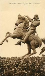 France - Orleans, Statue of Joan of Arc