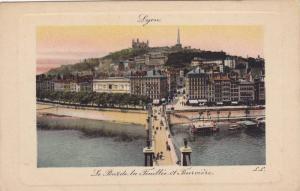 Le Pont De La Feuillee Et Fourviere, Lyon (Rhone), France, 1900-1910s