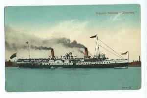 Postcard Niagara Steamer Chippewa VPC01.
