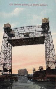 Illinois Chicago Halsted Street Lift Bridge