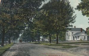FREDONIA , New York, 1906; Along the Highway (dirt)