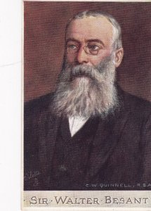 Portrait of Writer Sir Walter Besant, Men of Letters; TUCK #2699