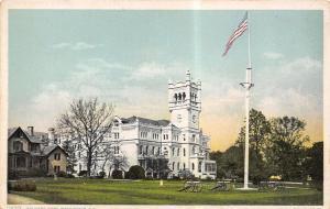 Washington DC Detroit Publishing #11405 Cannons @ Soldiers Home c1910 Postcard