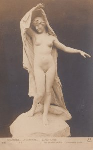 Nude Sculpture of a woman , 1900-10s