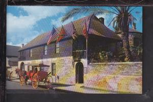 Oldest House in the US,St Augustine,FL Postcard