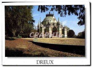 Modern Postcard Dreux Eure et Loir Chapelle Royale