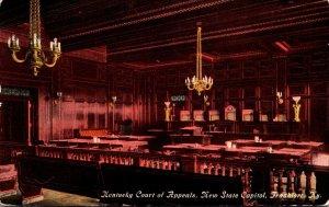 Kentucky Frankfort New State Capitol Kentucky Court Of Appeals Curteich