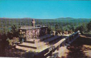 New Hampshire Rindge Altar Of The Nation & Altar Rail Cathedral Of The Pines