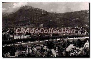 Old postcard Grenoble Vue Prize Du Jardin Des Dauphins