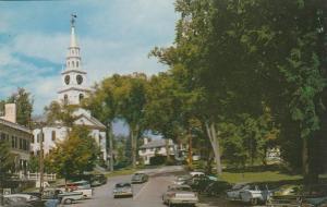Congregational Church on Main Street - Middlebury VT, Vermont