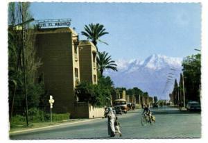 morocco, MARRAKECH, Hotel El Mahgreb (1970s)