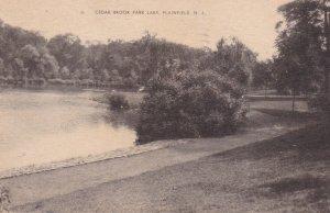 PLAINFIELD, New Jersey, 1946, Cedar Brook Park Lake