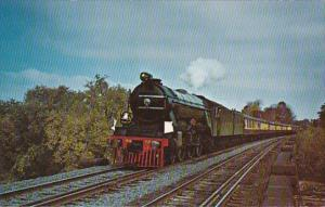Trains Alan Pegler's Gresley Pacific Flying Scotsman Near Windsor Connec...