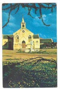 Old Roman Catholic Church at Savaneta, Aruba, 40-60s