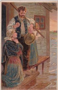 The Lord's Prayer, 1900-10s; P.F.B. Series 8415